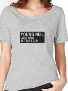 Scott Pilgrim - Young Neil's Name Card Women's Relaxed Fit T-Shirt