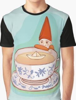 fairytale dwarf during teatime Graphic T-Shirt