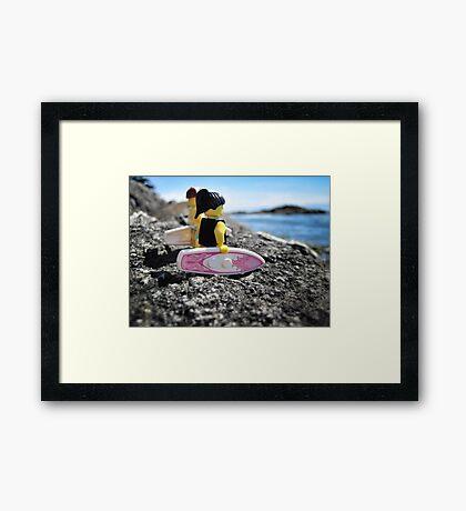 Surf's Up! (3 of 3) Framed Print