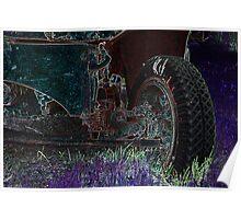 Vintage Dump Truck 3 Poster