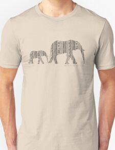 Follow Me _ Black Version Unisex T-Shirt