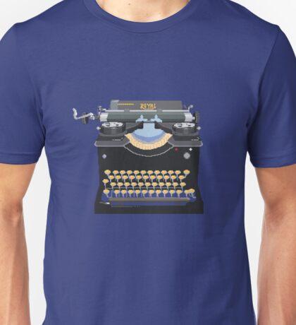 Pixel Typewriter Royal No 10 T-Shirt