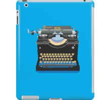 Pixel Typewriter Royal No 10 iPad Case/Skin