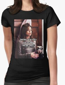 Meredith Grey Coffee Womens Fitted T-Shirt