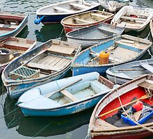 many dinghies by Anne Scantlebury