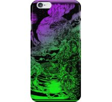 **** PSYCHEDELIC SPACE OX **** iPhone Case/Skin