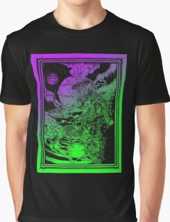 **** PSYCHEDELIC SPACE OX **** Graphic T-Shirt