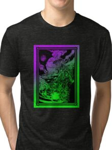 **** PSYCHEDELIC SPACE OX **** Tri-blend T-Shirt