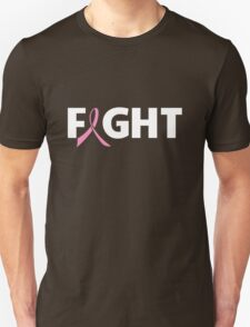 Fight Ribbon for Breast Cancer T-Shirt