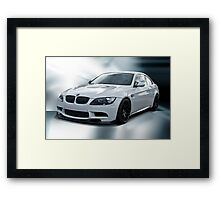 2008 BMW M3 Sports Coupe Framed Print
