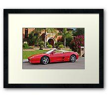 1999 Ferrari F355 Spider III Framed Print