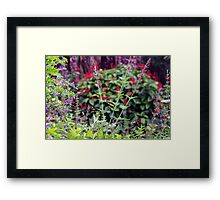 Wildflower stands Framed Print