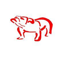 Red Bull Dog by jamesyoke