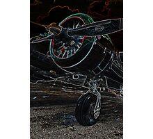 Airplane Engine Photographic Print