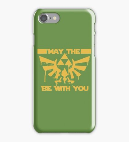 May the triforce be with you iPhone Case/Skin