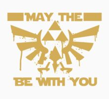 May the triforce be with you Kids Tee