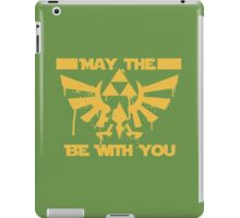May the triforce be with you iPad Case/Skin