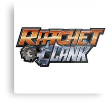 Ratchet & Clank - Logo Metal Print