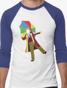 The Sixth Doctor - Doctor Who - Colin Baker Men's Baseball ¾ T-Shirt