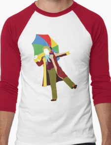 The Sixth Doctor - Doctor Who - Colin Baker Men's Baseball ¾ T-Shirt
