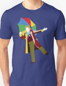 The Sixth Doctor - Doctor Who - Colin Baker Unisex T-Shirt