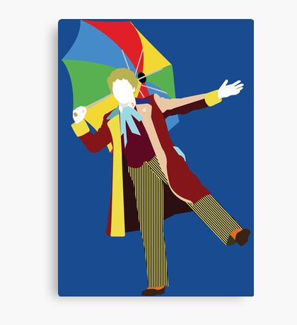 The Sixth Doctor - Doctor Who - Colin Baker Canvas Print