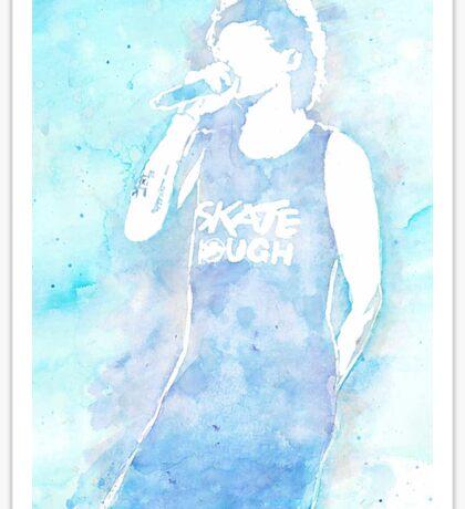 Louis Watercolor Sticker