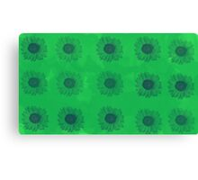 Sunflowers in Green Canvas Print