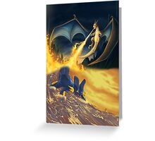 Charizard & Swampert Greeting Card