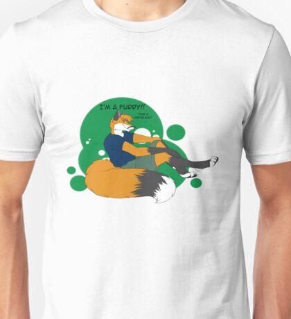 I'm a Furry! That a Problem? Unisex T-Shirt