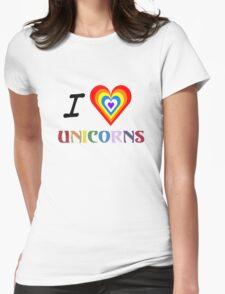 I Love Unicorns (T-Shirt & Sticker) T-Shirt