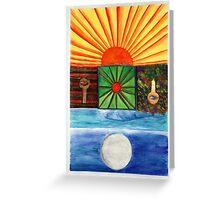 Ancient Love Greeting Card
