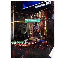 New York, Broadway Poster