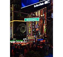 New York, Broadway Photographic Print