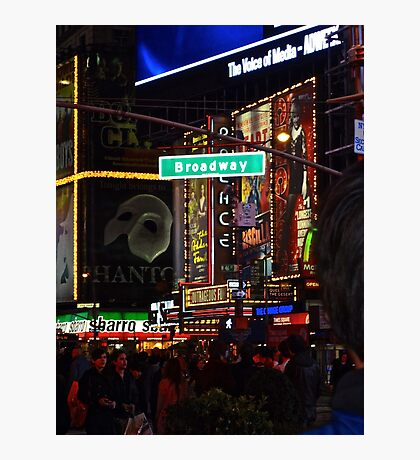 New York, Broadway Photographic Print