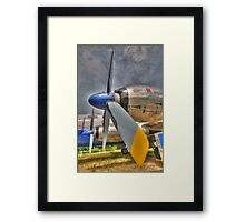 The Propeller (HDR) Framed Print