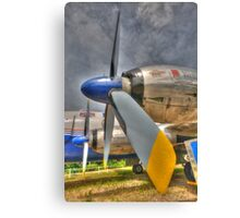 The Propeller (HDR) Canvas Print