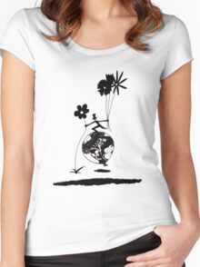 Mr Jacques romantic Women's Fitted Scoop T-Shirt