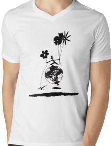 Mr Jacques romantic Mens V-Neck T-Shirt