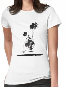 Mr Jacques romantic Womens Fitted T-Shirt