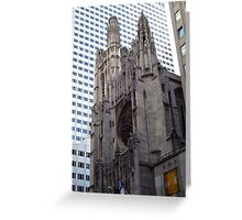 New York, St.Patrick's Cathedral Greeting Card
