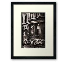 City - South Street Seaport - Bingo 220  Framed Print