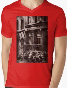 City - South Street Seaport - Bingo 220  Mens V-Neck T-Shirt