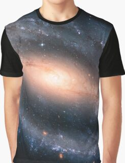 Barred Spiral Galaxy Graphic T-Shirt