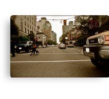 City Driving Canvas Print