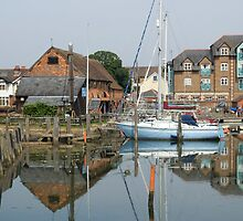 Eling tide mill landscape by Jim Hellier