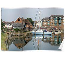 Eling tide mill landscape Poster