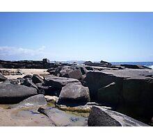 Rocks at Yamba. Photographic Print