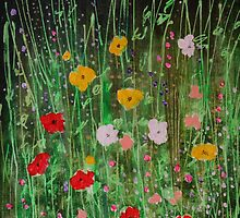 WILD GARDEN by Barbara Wogan-Provo