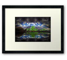 ©DA The Light I-A Framed Print